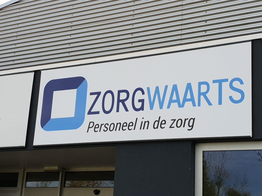 Gevelreclame_Zorgwaarts_Veenendaal